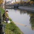 Fishing in the Dâmbovita