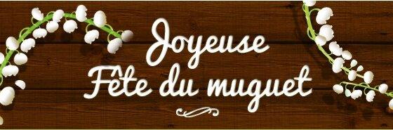 joyeuse mai du muguet