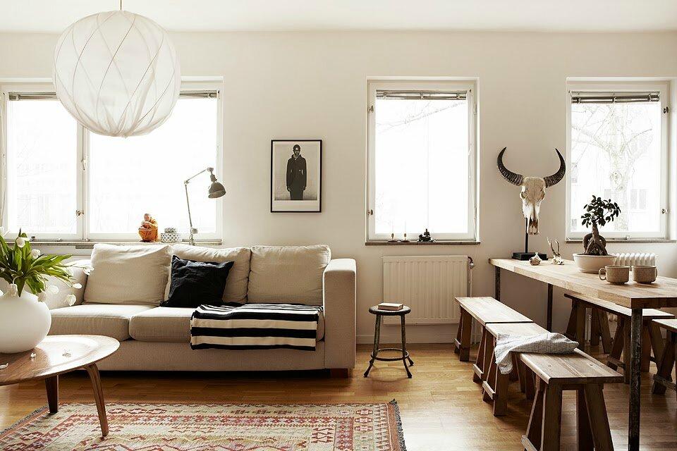 Un petit espace simplement convivial sonia saelens d co - Deco salon petit espace ...