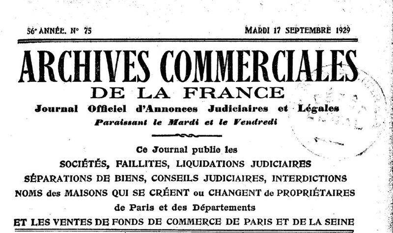 Archives commerciales 1929_1