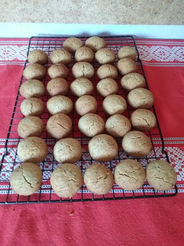 Petits Sablés aux pistaches grillées 054