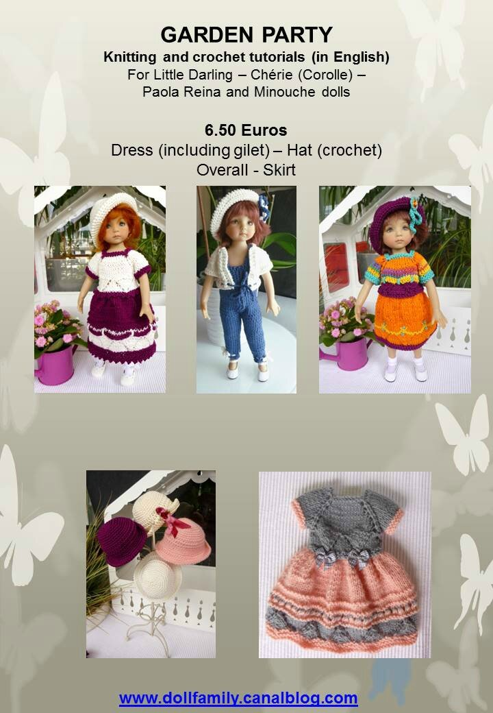 nouvelle boutique doll family une famille de poup es. Black Bedroom Furniture Sets. Home Design Ideas
