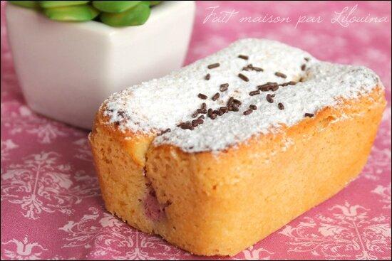Gâteau à la framboise et citron très facile...