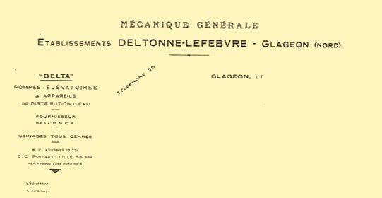 GLAGEON-Deltonne-Lefebvre 1946
