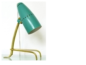 lampe cocotte turquoise