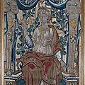 Panneaux de tapisserie polychrome. flandres, xviième siècle