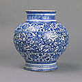 Jar, iznik, turkey, ca. 1480