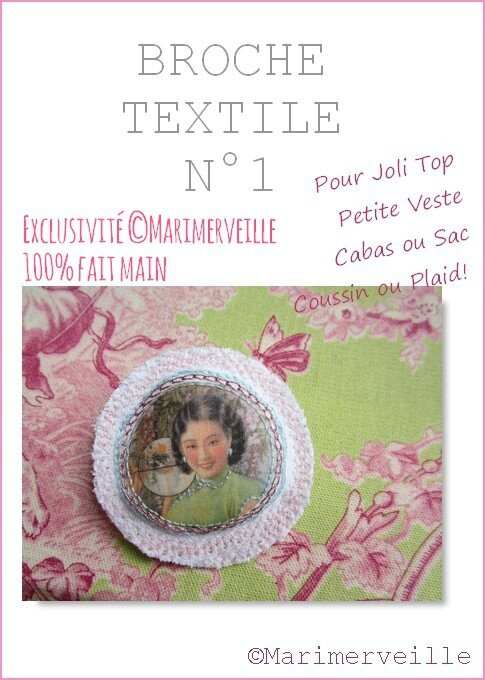 Broche textile 1 Marimerveille