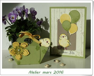 atelier paques stampin up