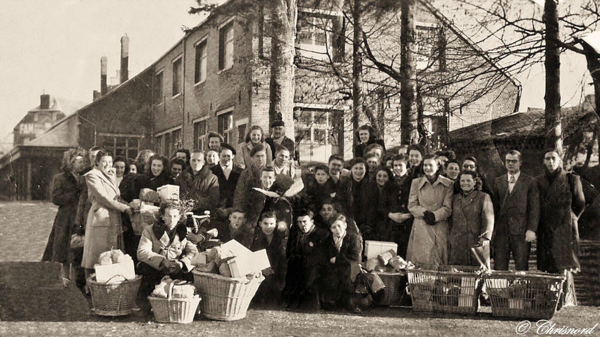 TRELON-Souvenir du premier Noël des Vieux en 1945