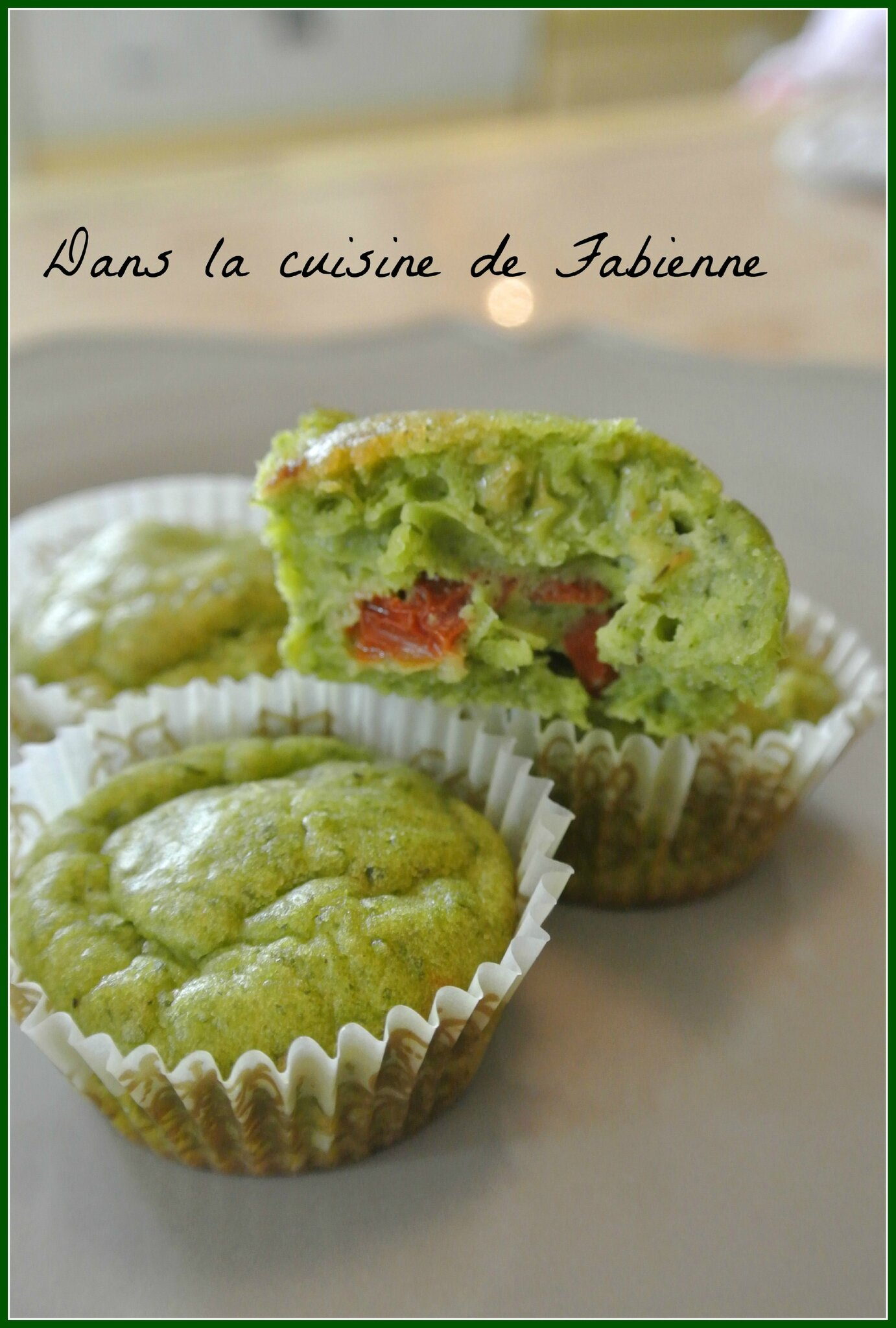 Mini Cake Pesto Parmesan