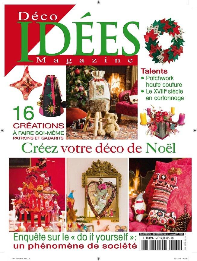O 39 perla dans id es magazine et id es patchwork o 39 perla actualit s - Maison idees magazine ...