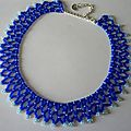Collier bronze age version bleue