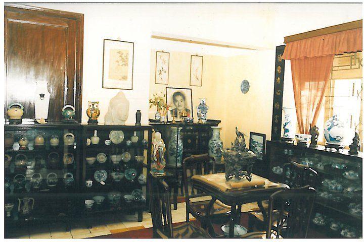 La salle de l'autel de mon oncle Duong Trung Tin, à l'étage