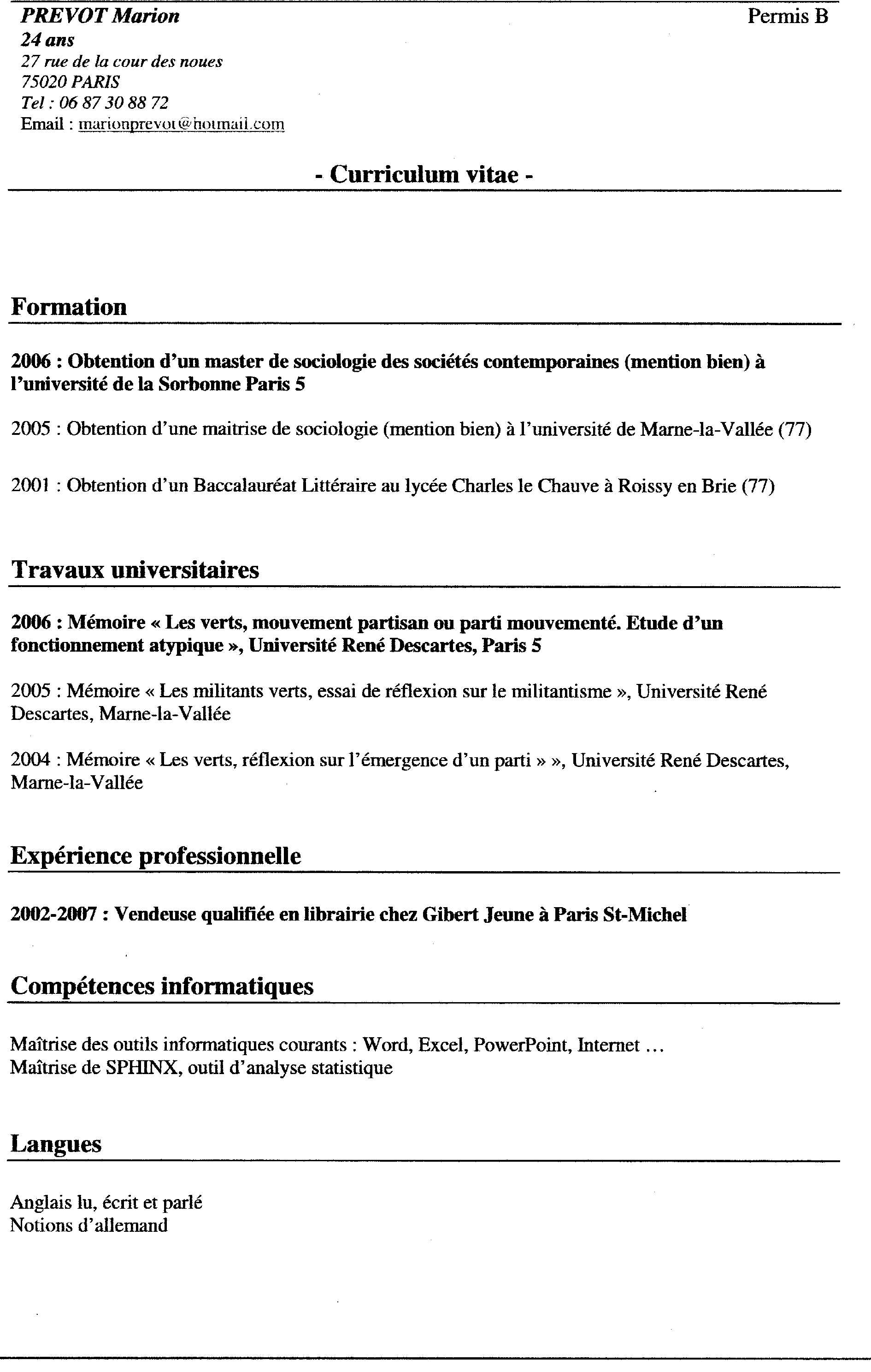 a resume objective exle make your resume from