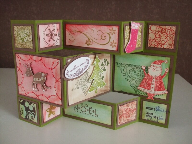 Super carte noel pliante - Photo de cartes (48) - Scrap en couleurs RL22