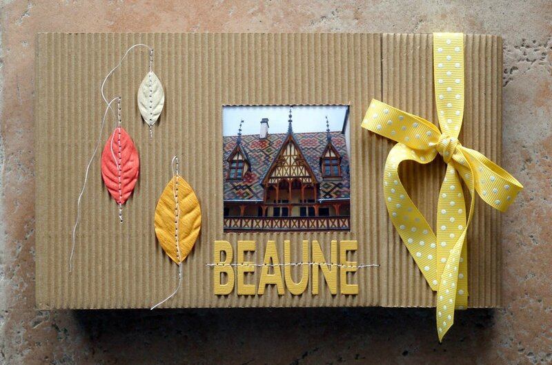 mini album BEAUNE couverture