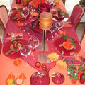 table souvenir de Marrakech