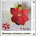 Poinsettia deco 1