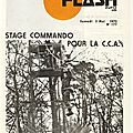 Flash Info 46° RI Mai 1975