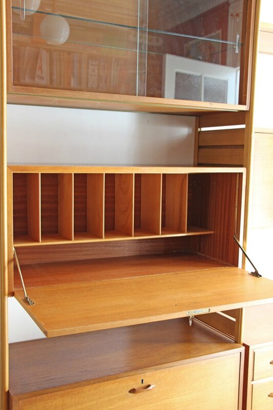 bibliothèque-vintage-ladderax-classeur