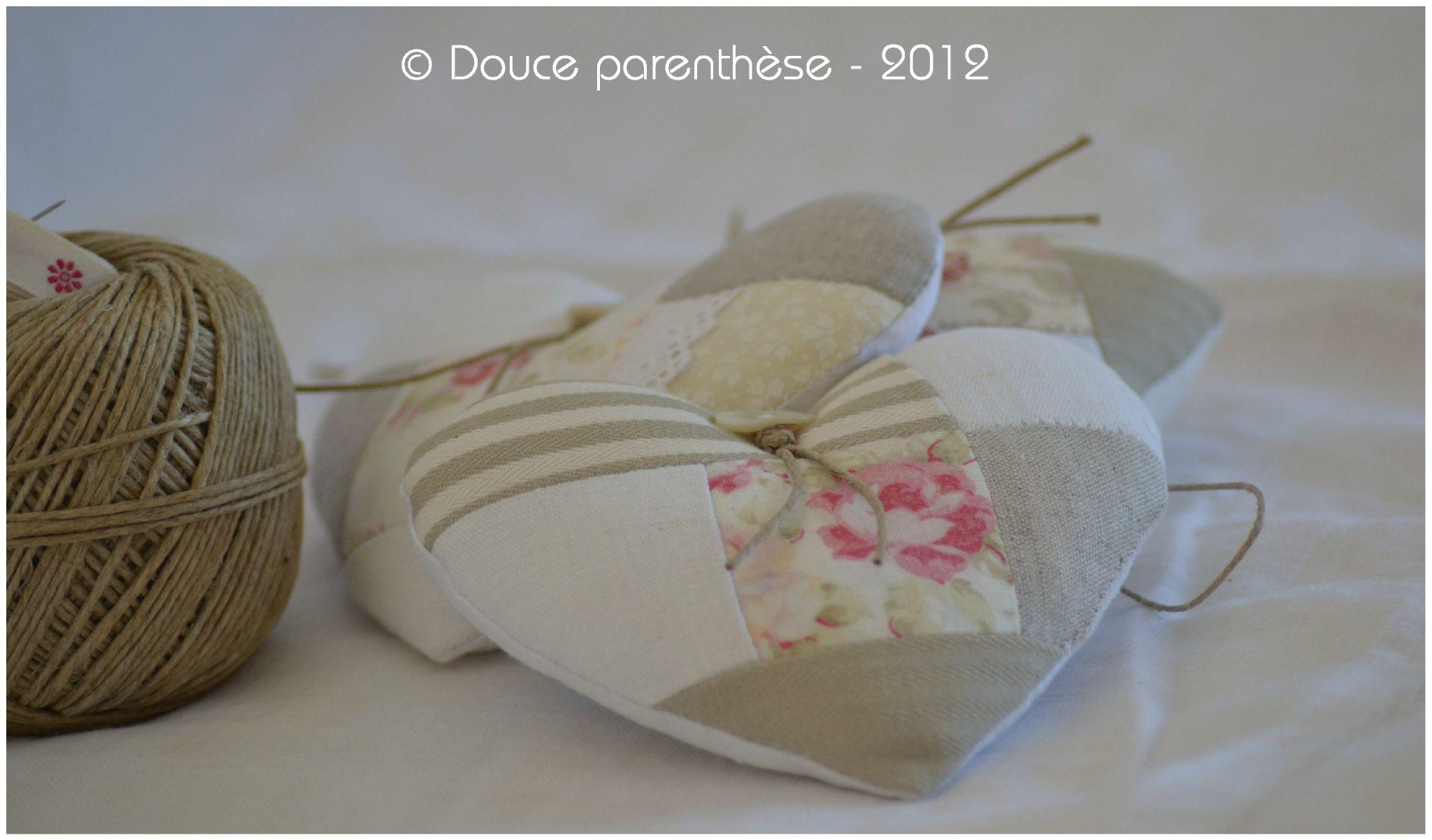 Comment coudre un coeur en tissu for De tissus en couture
