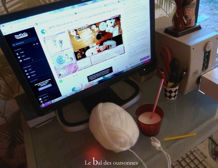 100 Blog Twitch Ahooka Amigurumi Crochet Streaming