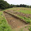 Construction du gymnase : des fouilles pour réaliser un diagnostic archéologique