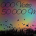 50 000 visiteurs!