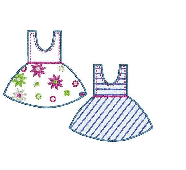 robe à fleurs appliqué3