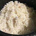 Riz pour sushis au cookeo