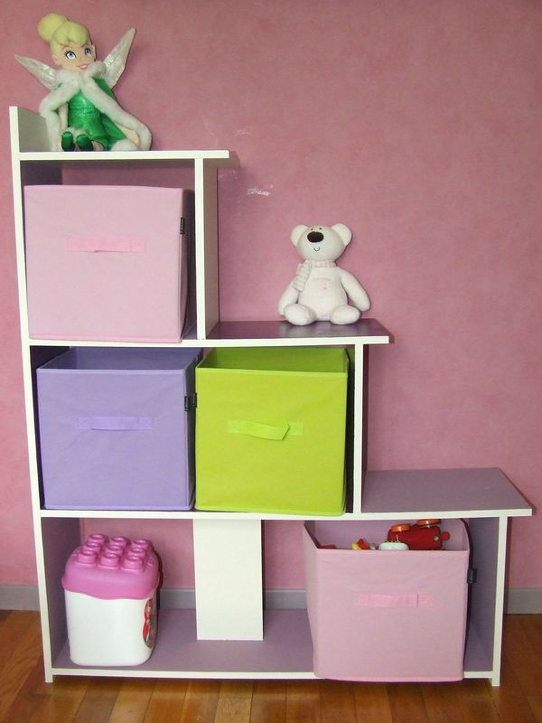 Trendy meuble rangement fille with meuble rangement fille for Meuble bebe fille
