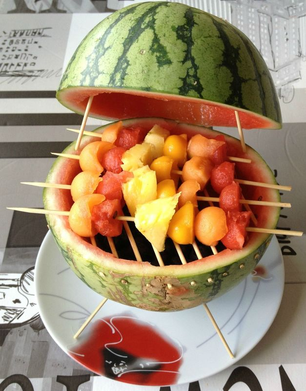 Barbecue de past que les experiences culinaires de soph for Decoration salade de fruits