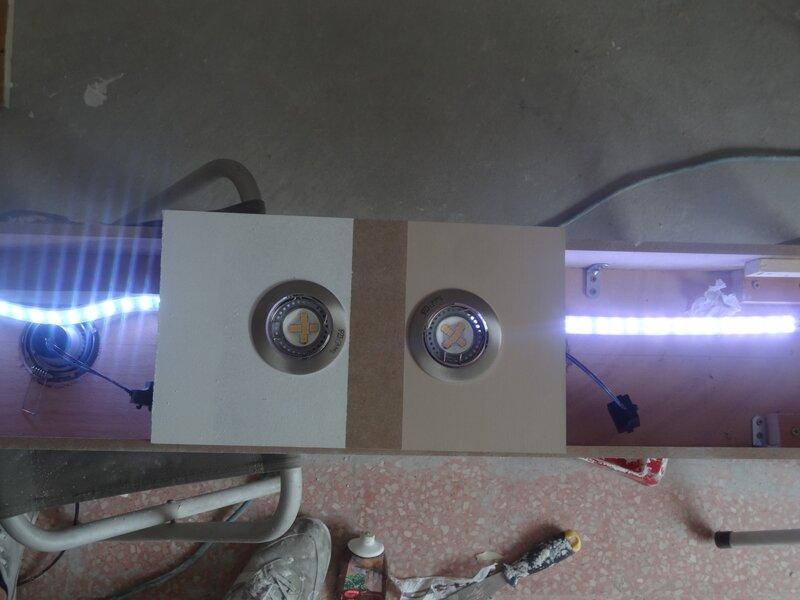 Cr ation d 39 une rampe led avec spots encastr s faire - Reduire la resonance d une piece ...