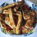 Le fromage halloumi - hellim peynir