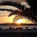 Le coucher de soleil du lundi 21 juillet 2014