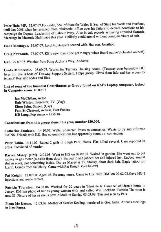 93545982 Scandale.Angleterre : Une liste éloquente de membres dun réseau pédo satanique