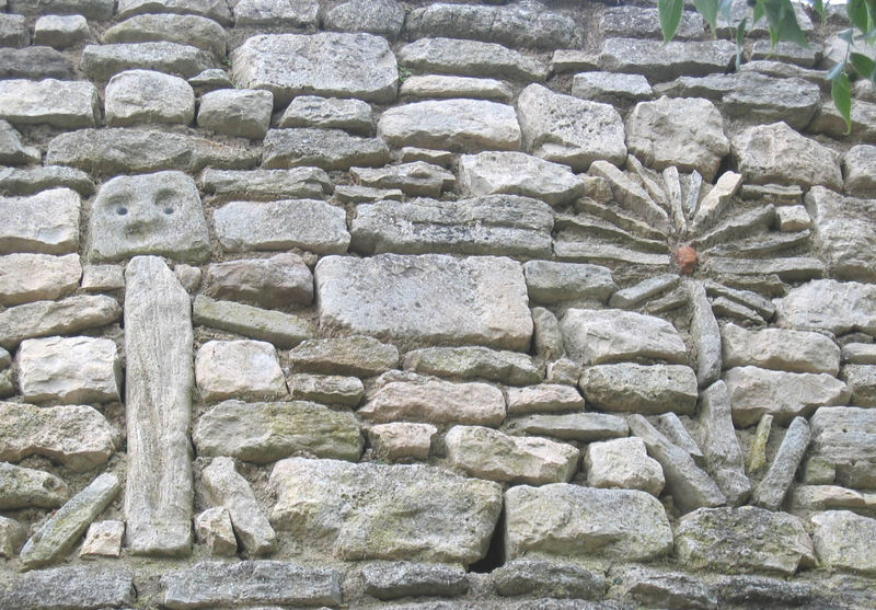 Le_Beaucet_Mur_de_pierres