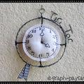 Mini Horloge - Réservée-