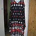 La robe drapée de maman (enfin, moi !!!)