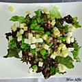 Salade campagnarde aux fèves