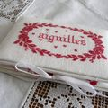 Pochette  aiguilles