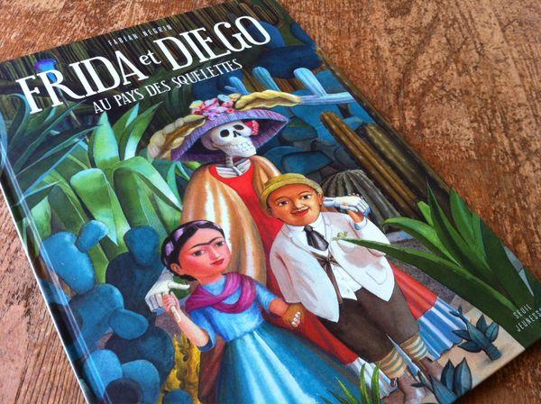 Frida et diego couverture