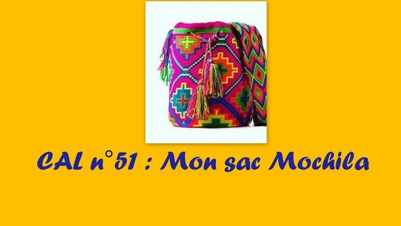 cal n°51 - Sac mochila