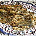 Friture de sardines à l'algéroise