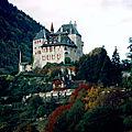 cadre du marché d'automne : le château de Menthon