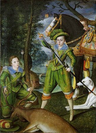 Robert Peake Henry prince of Wales and sir John Harington 1603 Metropolitan