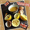lemon curd : so brittish !!! au micro onde 2 versions : avec ou sans beurre