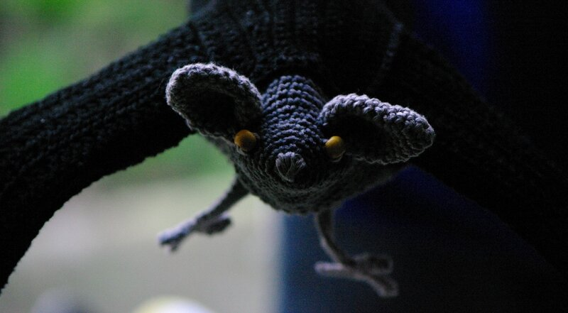 bat-marionnette au crochet