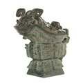 Chinese bronze vessel sells for $722,500 at leslie hindman auctioneers